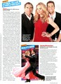 Zac, Yvonne and T.Dalton in TV Guide - zachary-levi photo