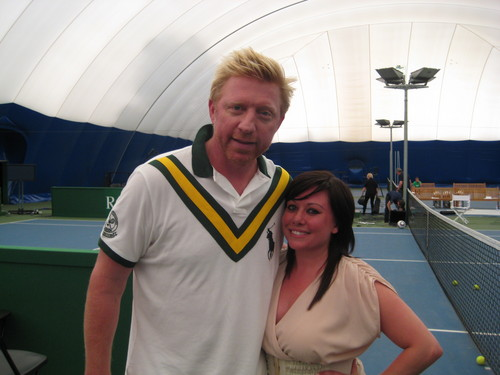 boris becker fan