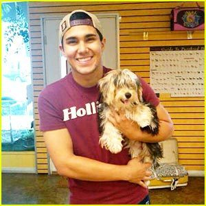 carlos and his cachorro, filhote de cachorro stella