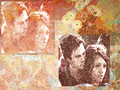 colourful - damon-and-bonnie wallpaper
