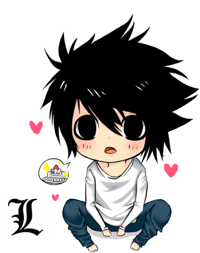 Death Note achtergrond with anime entitled dn_chibi