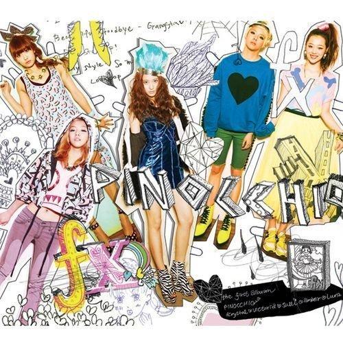 F(X) album cover...