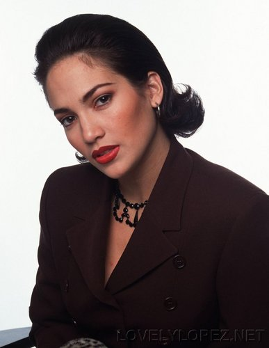 jennifer lopez young - photoshoot 1992
