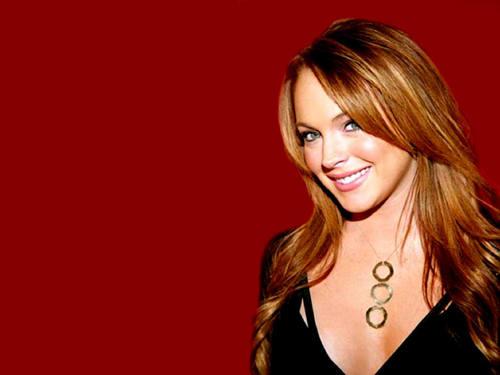 Lindsay Lohan wallpaper with a portrait entitled lohan
