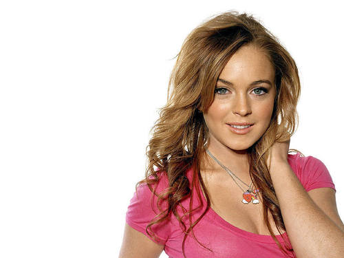 Lindsay Lohan wallpaper with a portrait entitled lohan
