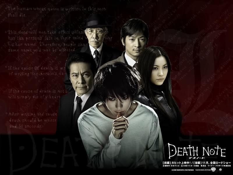movie wallpaper  L Death Note Movie Wallpaper