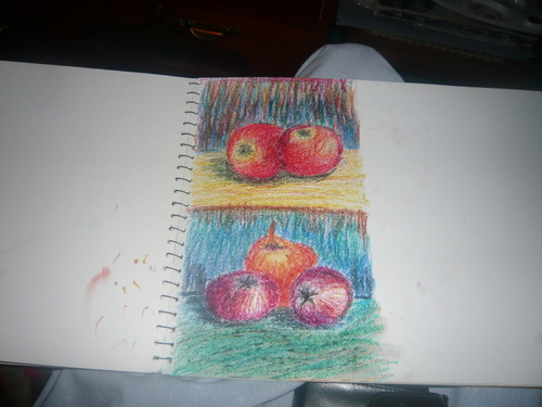 muneeb pastel drwg