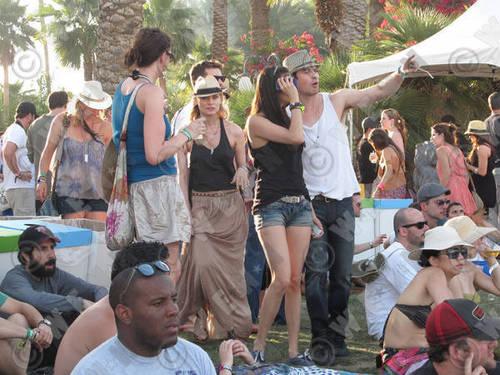 nian at Coachella
