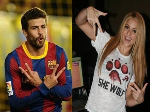 same gesture Shakira piqué