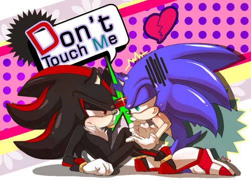 Sonadow wallpaper with anime titled .:Sonadow:. ~ <3