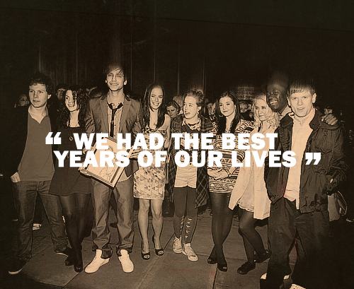 """We had the best years of our lives"""