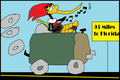 ♥♥Woody Woodpecker's Road Trip Through The States                  - woody-woodpecker fan art