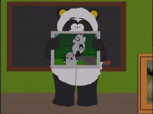 South Park Hintergrund called 3x06 Sexual Harassment Panda