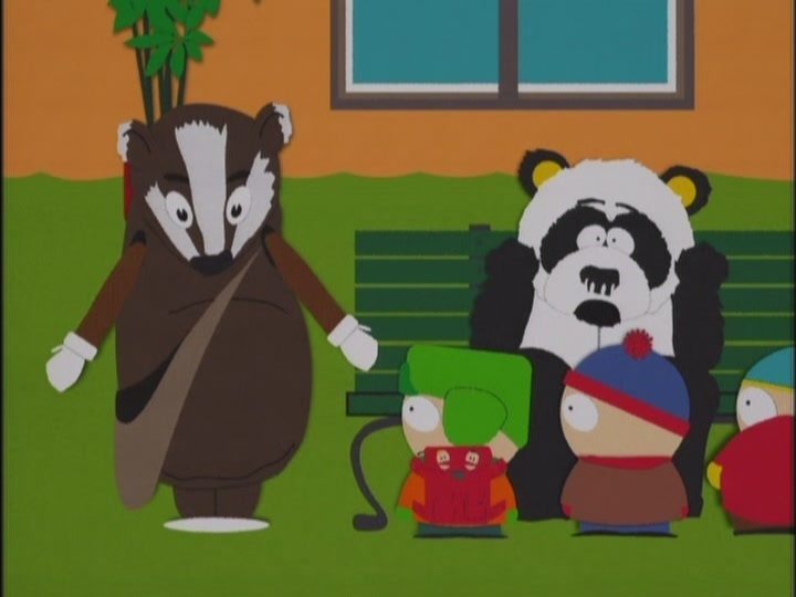 Sexual harassment panda south park episode list