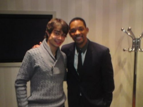 Alexander Rybak and Will Smith :)