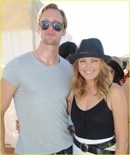Alexander Skarsgard: Lacoste L!ve Party with Kirsten Dunst!
