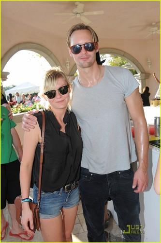 Alexander Skarsgard: Lacoste L!ve Party with Kirsten Dunst!