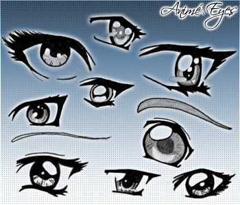 Amime eyes