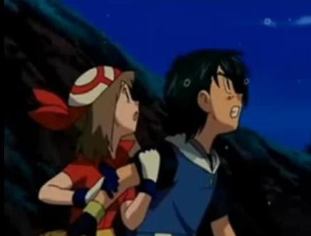 Ash and May <3