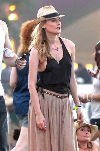 At 2011 Coachella Muzik Festival with Diane