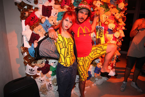 At Jeremy Scott's Party