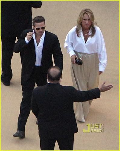 Brad Pitt: Brad Grey's Wedding Guest!