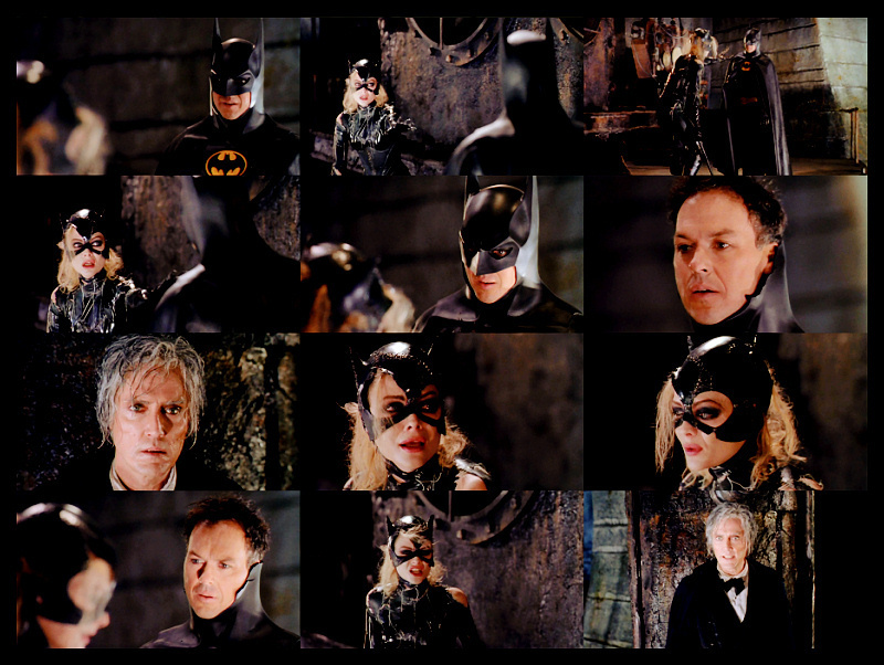 Bruce Wayne/ Selina Kyle w/Max Shrekk