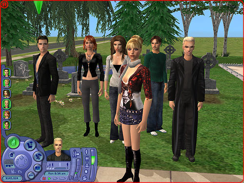 Buffy the Vampire Slayer wallpaper called Buffy Sims
