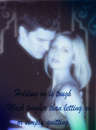 Buffy and Angel - l'amour Quote