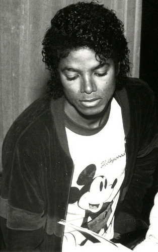 Can't get enough of wewe MJ:)