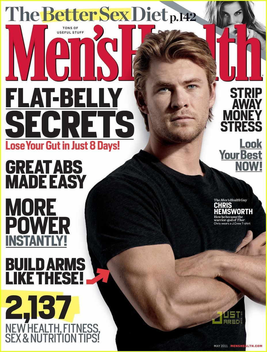 Chris Hemsworth Covers 'Men's Health' May 2011 - chris-hemsworth photo
