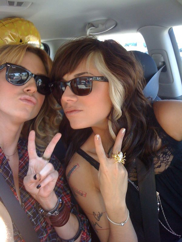 Christina and Keltie