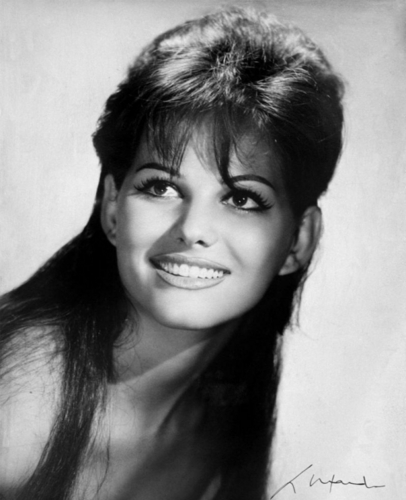 Claudia Cardinale wallpaper possibly containing a portrait and skin entitled Claudia Cardinale