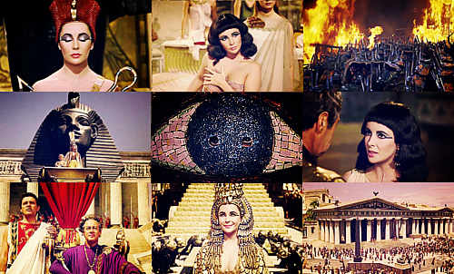 Cleopatra collage