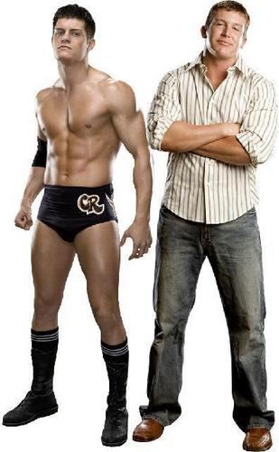 Cody Rhodes and Ted Dibiase