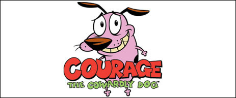 Courage the Cowardly Dog 壁紙 possibly with アニメ titled Courage the Cowardly Dog