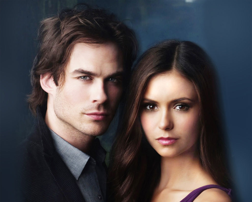 vampire diaries elena and damon dating in real life It was the moment delena fans had been waiting for: damon and elena finally got it on and, after a few fake-outs, it was the real deal the vampire diaries duo – a real-life.