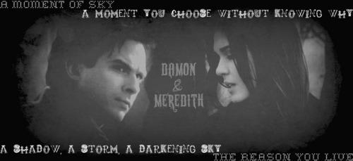 Damon/Meredith - MOS