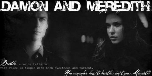 Damon/Meredith