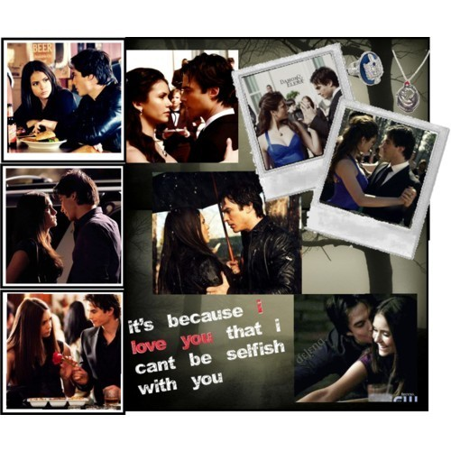 Damon and Elena <3
