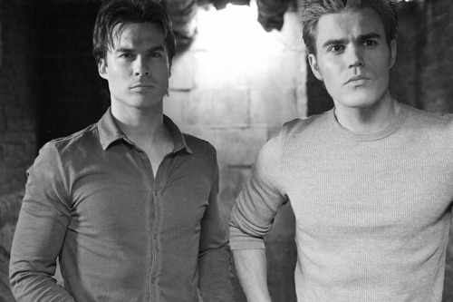 Damon and Stefan<3