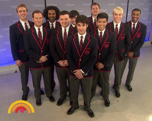 Darren Criss and The Warblers - darren-criss Photo