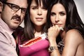 David Arquette,Neve Campbell and Courtney Cox