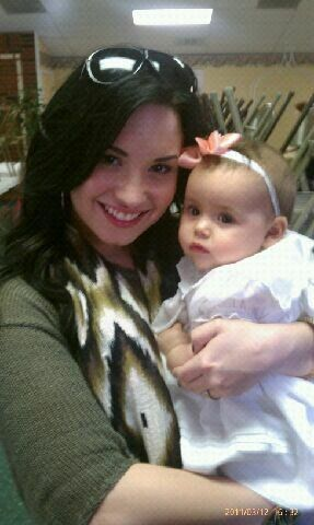 Demz and cute baby:X