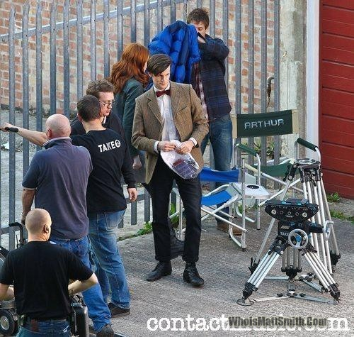 Doctor Who series 6 filming