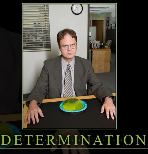 The Office wallpaper probably containing a business suit entitled Dwight