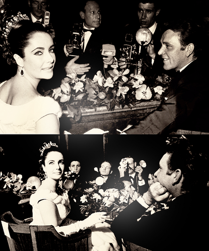 Elizabeth Taylor and Richard 伯顿
