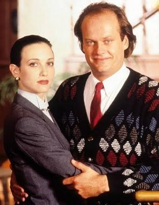 Frasier fondo de pantalla with a business suit, a suit, and a three piece suit titled Frasier and Lilith