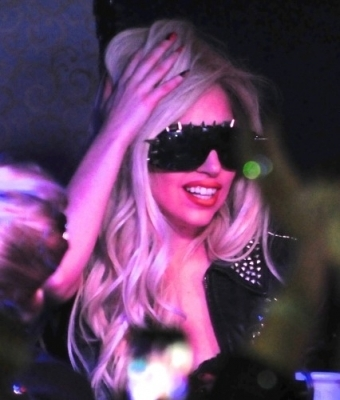 Gaga playing Judas @ Kennedy nightclub in Tampa