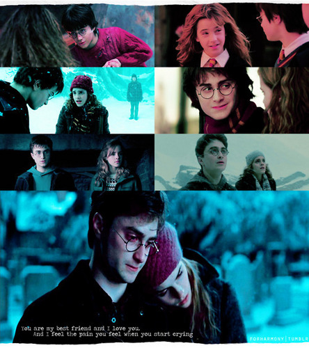 Harry and Hermione♥